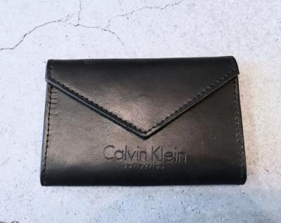 """Kalvin Klein"" Leather Card Holder"