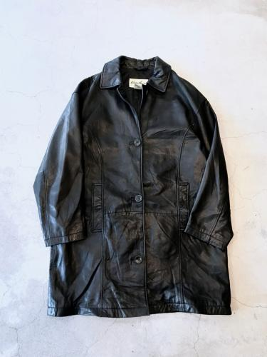 Old Leather SoutienCollar Coat