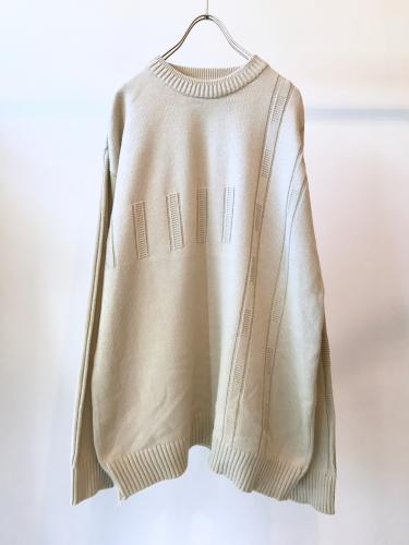 90s Solid Cotton Knit