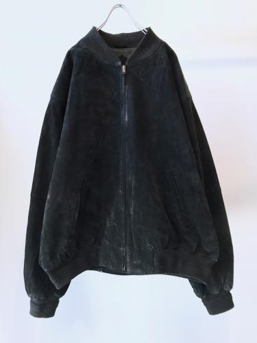 Old Suede MA-1 type Blouson