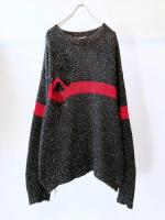 Old Cotton Knit Sweater