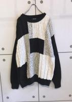 Design Panel Knit Sweater