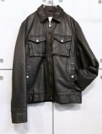 """calvin klein"" Design Leather JKT"