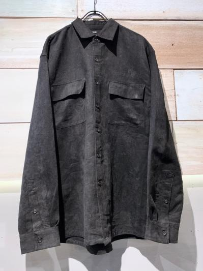old Microsuede shirt