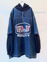 90s RESULTS Pullover Denim Tops