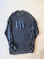"""ROCA WEAR"" SuperBigSilhouette Indigo Knit"