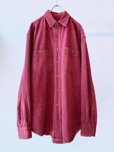 """GAP"" Color Denim Shirt"