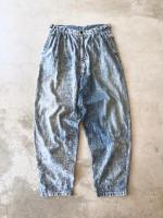 80s Washed Denim Pants
