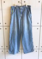 Design Wide Denim Pants