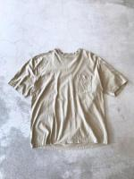 Cotton Embroidery Pocket Tee