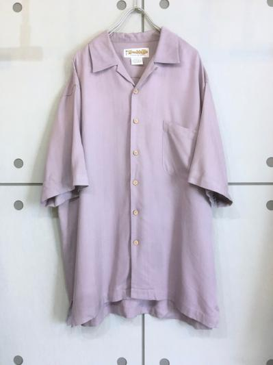 Old Color Silk Shirt