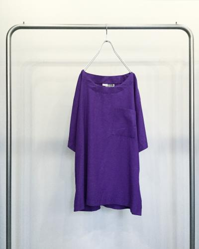 Rayon Oversize Pocket Cut Sew