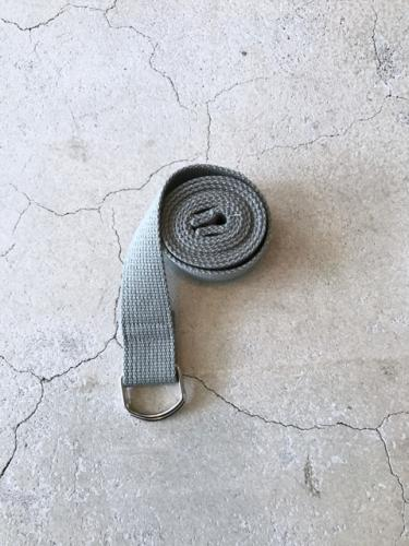 Cotton Ring Belt GRY