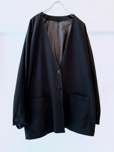 Old Luxe Collarless Jacket
