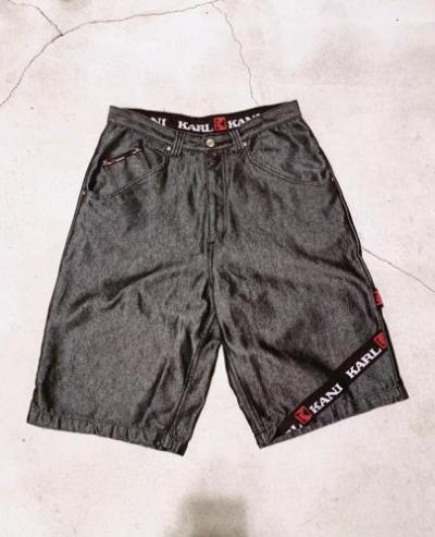"""KARL KANI"" Design Denim Shorts"
