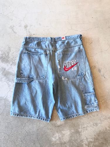 90s Wide Denim Short