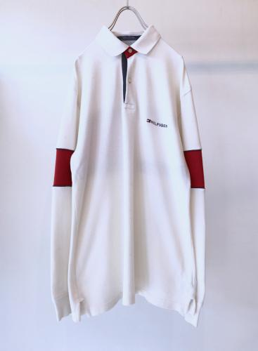 """TOMMY HILFIGER"" Cotton Pullover Shirt"