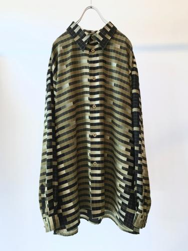 L/S Design Pattern Shirt