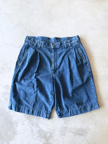 Denim Tuck Short