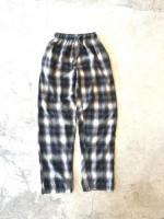 Cotton Check EZ Pants