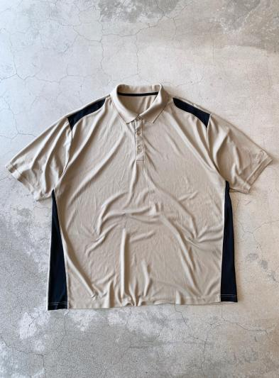 00s Oversized Silk Polo