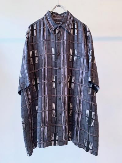 old Pattern Rayon Shirt