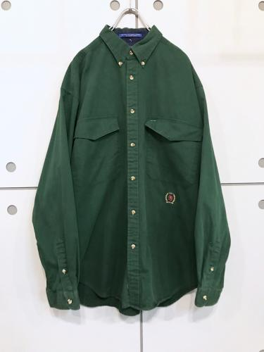 """TOMMY HILFIGER"" L/S Cotton Shirt"