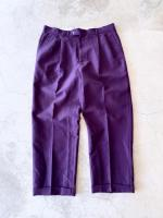 vintage Color Wide Trousers