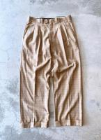 Old Pattern Wide Trousers