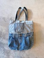 vintage Denim Tote BAG