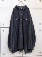 OverSized HeavyCotton Shirt JKT