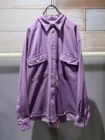 OLD PURPLE JEAN  SHIRT