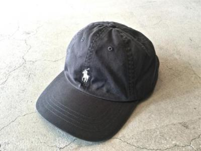 """Ralph Lauren"" Cotton Panel CAP"