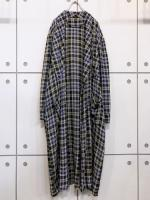 """Vintage"" Check Rayon Gown"
