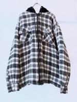 90s Flannel Hooded Jacket