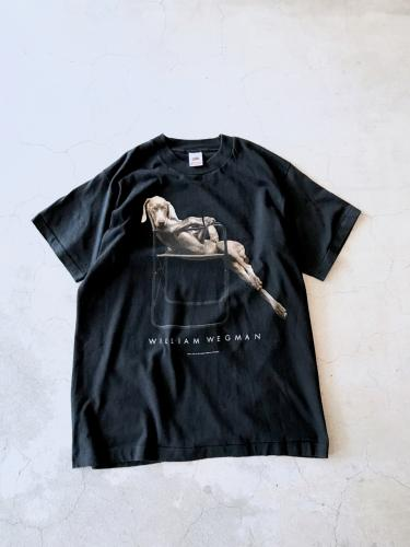 "Printed Tee ""William Wegman"""