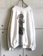 "Printed Sweat Shirt ""The Open mind thinker"""