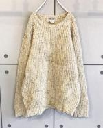 Wool×Acrylic Knit Sweater