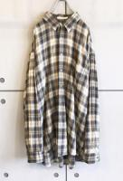 Cotton×Rayon OmbreCheck Shirt