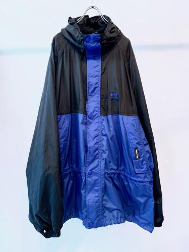 """HERRY HANSEN"" Bicolor Nylon Jacket"