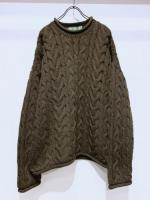 vintage  Wool Knit Sweater