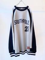 "90s ""SOUTHPOLE"" Knit Sweater"
