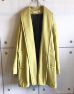 Color Wool Haori Coat