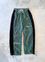 00s Cord joggers with velour detail