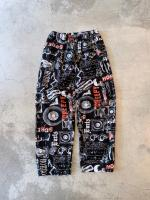Printed cotton ez pants