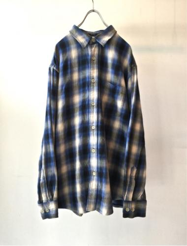 90s Cotton ShadowCheck Shirt