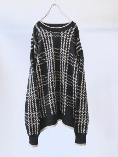 Design Cotton Knit Sweater