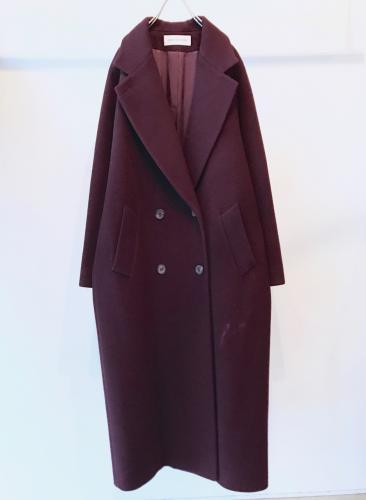 Old Wool DoubleBreasted Coat