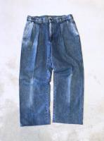 """Ralph Lauren"" Wide Denim Trousers"