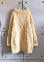 Mohair×Acrylic Knit Sweater